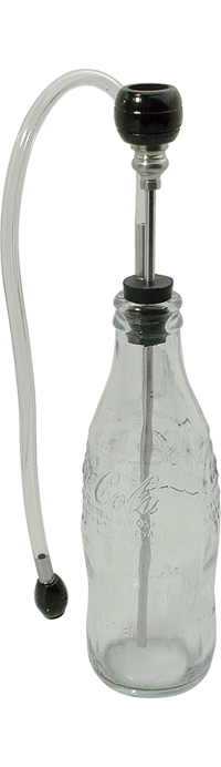 Glass Coca Cola Bottle Waterpipe