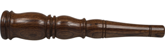 Medium Wrought Rosewood Chillum