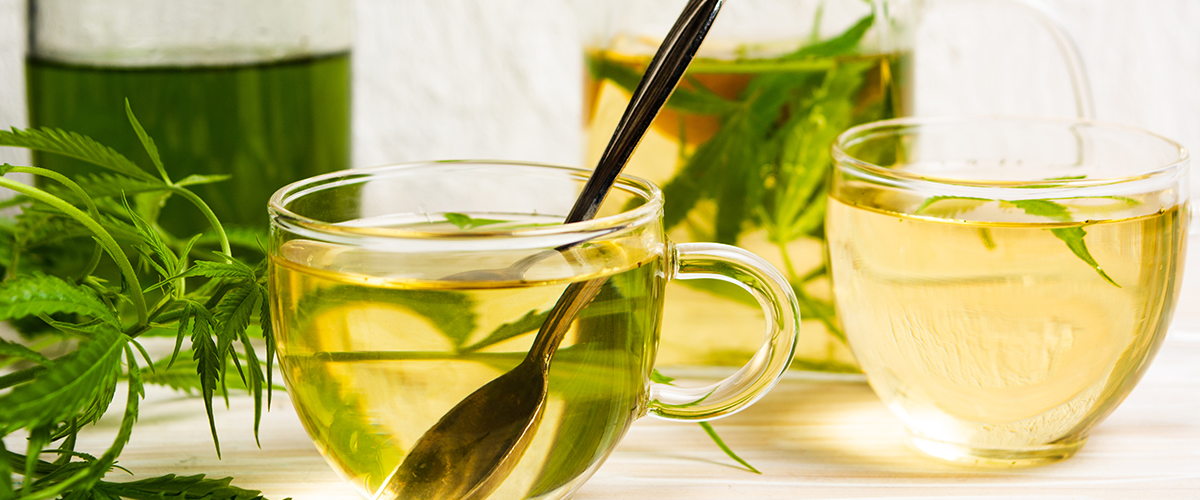 Relaxing Chamomile-Cannabis Tea