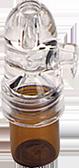 Bruine Plastic Coke Bullet