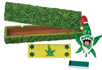 cannabis smokings gift set