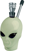 Ceramic Alien Amsterdam Bong