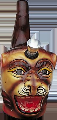 Ceramic Lion Headshop Waterpipe