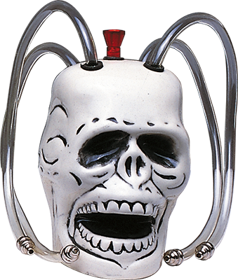 Cannabis Bong Esqueleto