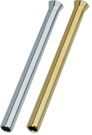 Paille de cocaïne chrome