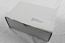 Ook op de doos geen bedrijfs of product gegevens