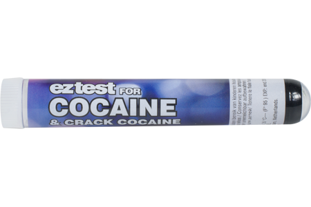 EZ test for Cocaine Identification