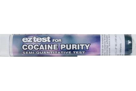 EZ test voor cocaïne zuiverheid