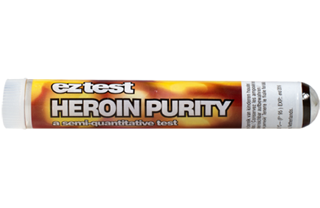EZ Test for Heroine Purity