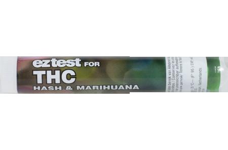 EZ тест на наличие ТГК в Гашише и Марихуане