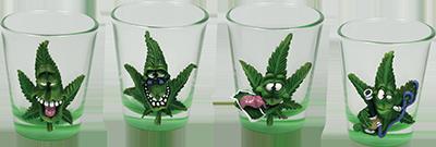 funny weedleaf glasses