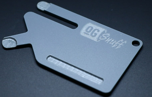 OG Snuff Card Gunmetal Grey