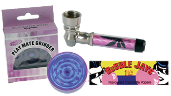 girls smoking gift set