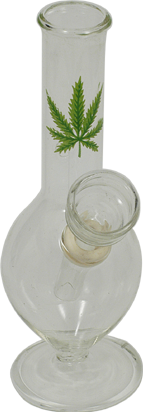 glass leaf marijuana bong