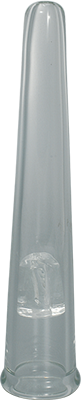 Glass Transparant Marijuana Chillum