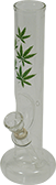 "glass ""weedleaf"" waterpipe"
