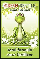 green reptile start fertilizer