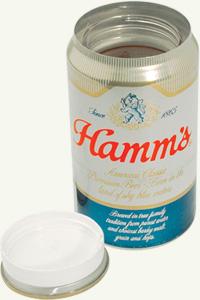 z hamms beverage safecan