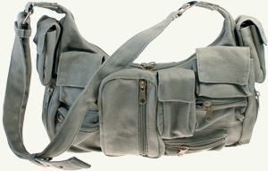 hemp cotton shoulder bag