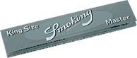 kingsize silver smoking paper