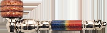 Large Metal Rainbow Smokingpipe