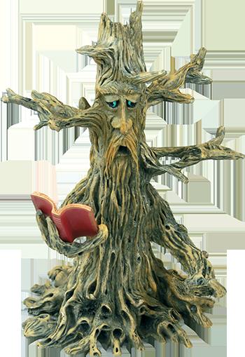 magic tree incense burner