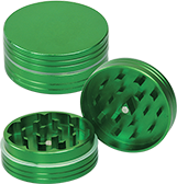 Green Metal Grinder