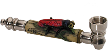 Metal Ladybug Buy Smoking Pipe
