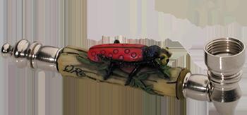 Metal Ladybug Buy Smoking Pipe