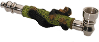 metalen aap on-line rook pijp