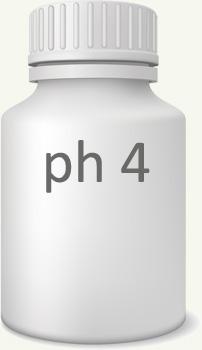 pH 4 ijk vloeistof