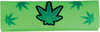 plastic wallet leaf design