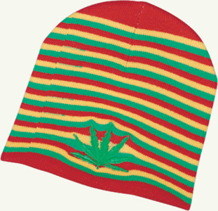 z rasta leaf hat