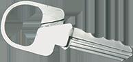silver key cigaret holder