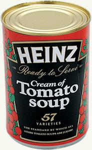 z stashcan heinz tomato soup