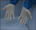 sterile hand gloves