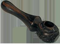 houten spoon marijuana rookpijp